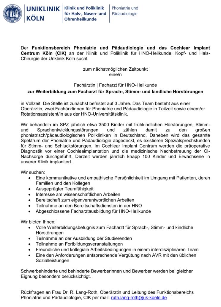 Dgpp deutsche gesellschaft fur phoniatrie und for Stellengesuche g ttingen